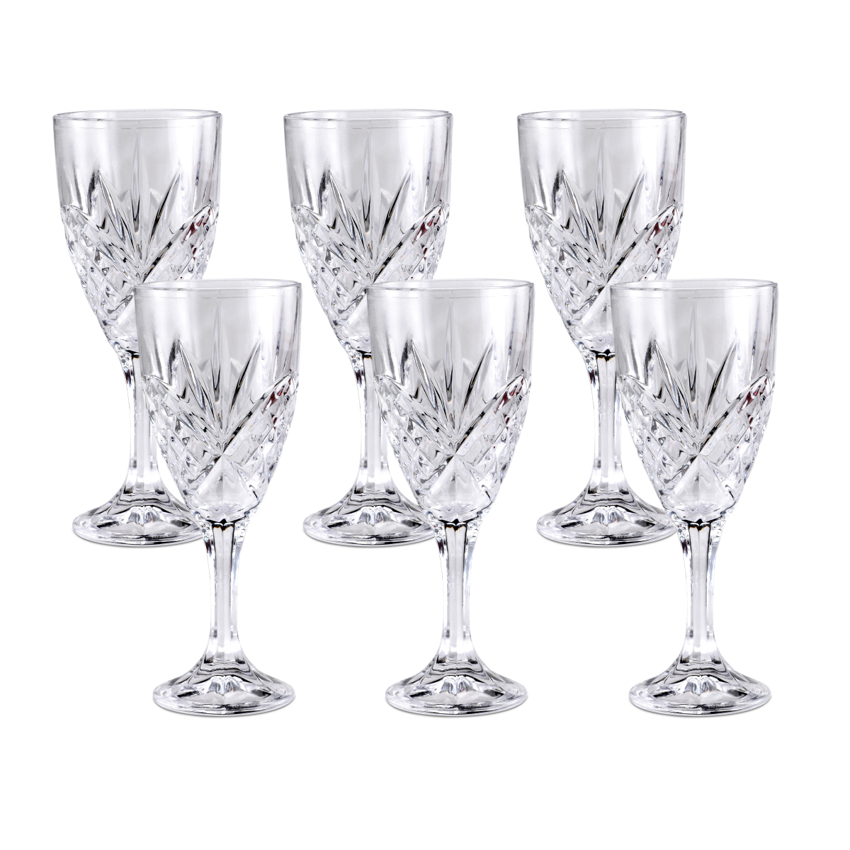 Killarney Crystal Trinity Wine Glass Set Of 6 Ashford